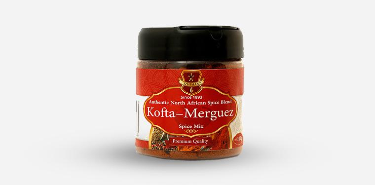 Kofta-Merguez Spice Mix Plastic Jar – 100 Grams