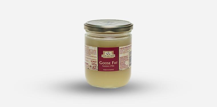 Goose Fat Twist Off Glass Jar – 320 Grams