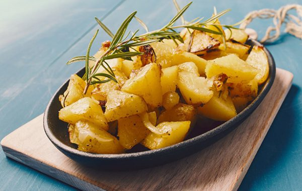 Baked Potatoes with duck fat or goose fat