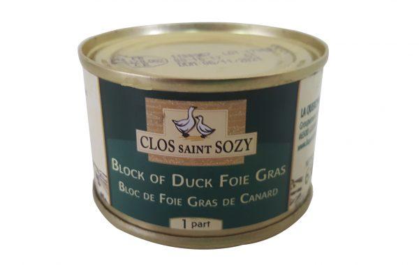 BLOCK OF DUCK FOIE GRAS – 65 GRAMS