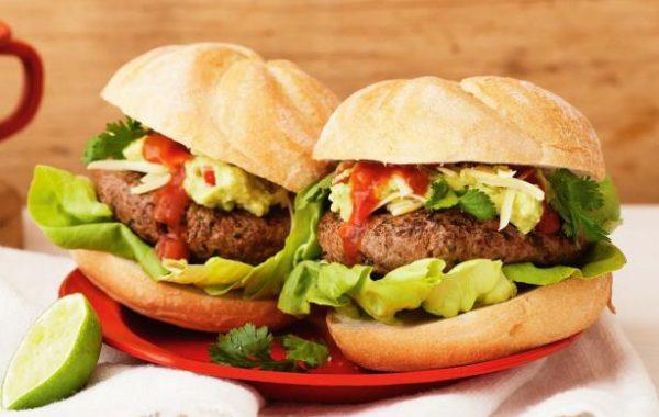 Harissa Beef Burger